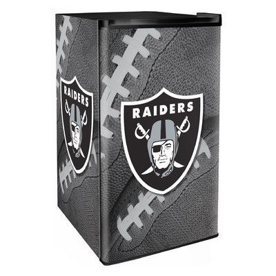 Boelter Brands NFL 3.2 cu. ft. Compact Refrigerator with Freezer NFL Team: Raiders
