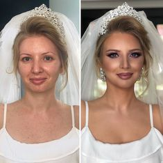 11 Bride Portraits Taken Before And After They Got Their Make Up Done By This Artist From Kosovo