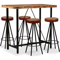 Esszimmermobel Bartisch Barhocker Und Alter Holztisch