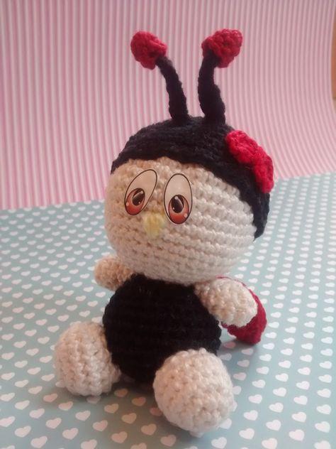Amigurumi Pattern - Dotty the Ladybug - English Version | Projetos ... | 632x474