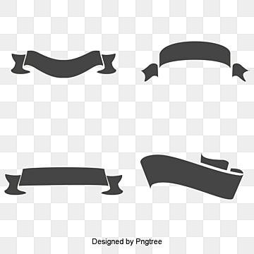 28 A Black Ribbon Design Vector Material Black Banner Label Png Transparent Clipart Image And Psd File For Free Download Ribbon Design Black Ribbon Photoshop Backgrounds Free