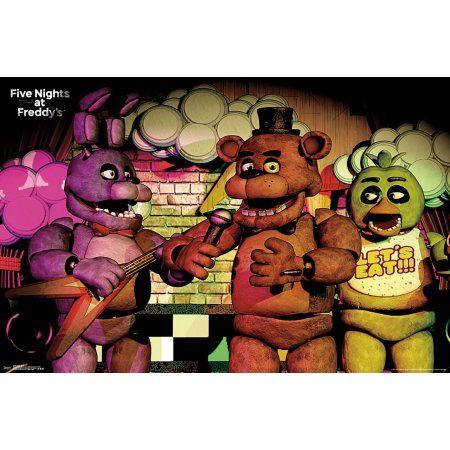 Five Nights At Freddy S Band Walmart Com Five Nights At Freddy S Five Night Horror Game