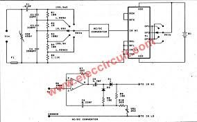 Ac Voltmeter Pdf Google Search Circuit Diagram Analog To Digital Converter Multimeter