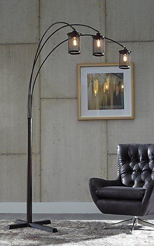 Floor Lamps Illuminate From The Floor Up Ashley Furniture
