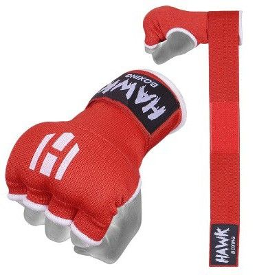 Hawk Padded Inner Gloves Training Gel Elastic Hand Wraps For Boxing Gloves Quick Wraps Boxing Hand Wraps Hand Wrap Boxing Wraps