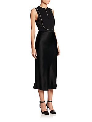 1b939e8b9a46f ELIE TAHARI ANNMARIE SUEDE STITCHED DRESS. #elietahari #cloth # | Elie  Tahari | Dresses, Elie tahari, Dresses for work
