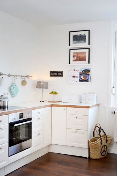 Küche ohne Hängeschränke Kitchen Pinterest House - k chenzeile ohne oberschr nke