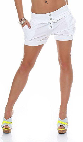 Kauf authentisch große Auswahl attraktiver Stil malito Damen Hotpants in Unifarben | lockere kurze Hose ...