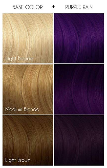 Arctic Fox Hair Color Is A Semi Permanent Direct Dye Meaning It