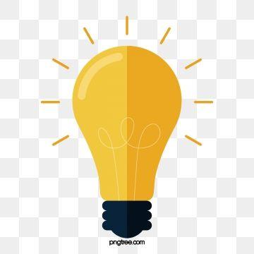 Spot Light Effect Light Bulb Icon Light Bulb Vector Color Vector