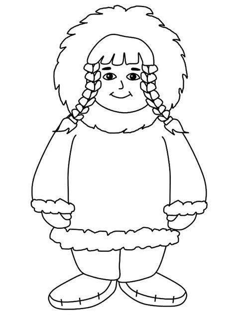 Afbeeldingsresultaten Voor Eskimo Kleurplaat Coloring Pages For
