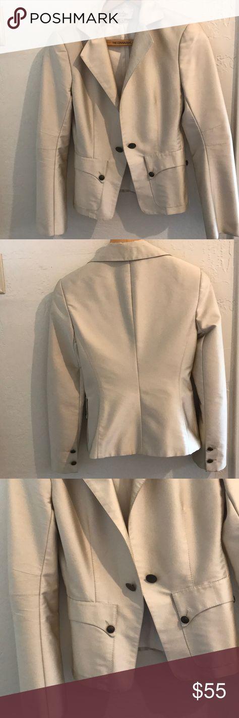 DASLU Brazil fitted cream jacket, S DASLU Sao Paulo women's