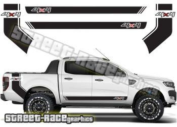 1999 Ford F150 4x4 Off Road Vinyl Decals Truck Stickers Bed Side Graphic Set of