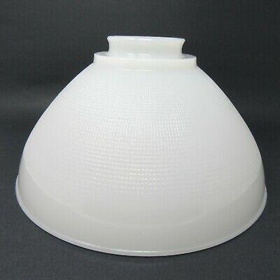 White Milk Glass Torchiere Lamp Shade 10 Waffle Pattern Allegheny In 2020 Torchiere Lamp Shade Torchiere Lamp Lamp