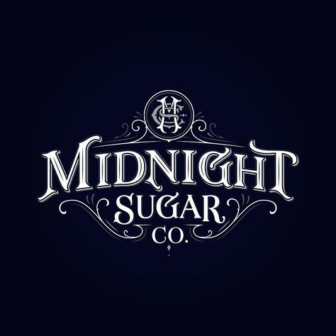 "Tobias Saul on Instagram: ""The final design for Midnight Sugar Co. ✨"""