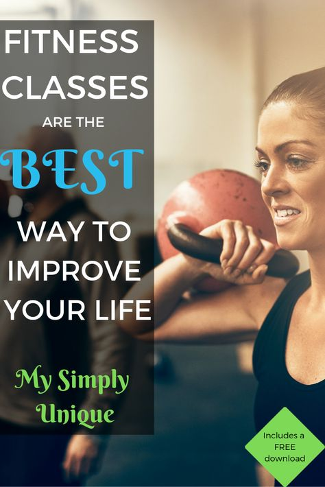 Fitness Classes Are The Best Way To Improve Your Life Fitness Class Health Motivation Improve Yourself