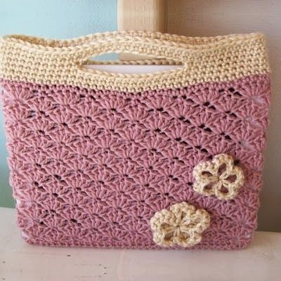 Patrones Trapillo: BOLSOS | crochet trapillo | Pinterest