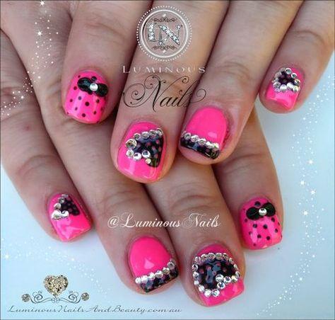 Nails Beauty Cute Pink Nails   fashionref