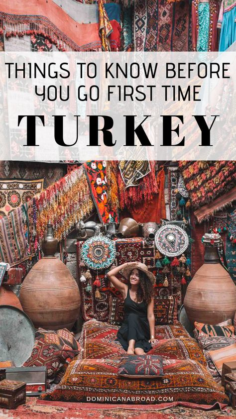 Planning a trip to Turkey? Here are the utmost important things to know: language, currency, visa, how to dress/outfits, what to eat, how to get around, where to go, what to do, what to pack, which adapter to bring, and so so much more. #turkey #turkeytravel #traveltips #travelblog #turkey #vacation #ephesus, traveling to turkey #guide #Istanbul #cappadocia #beautiful, perfect for honeymoon, travel post, #adventure, place to travel, #culture #Exploring Turkey travel destinations #izmir
