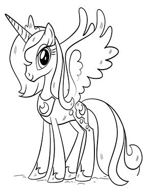 Ausmalbild Lustiges Einhorn Zum Kostenlosen Ausdrucken Und Ausmalen Fur Kinder Ausmalbilder Ausmalbilder Einhorn Zum Ausmalen My Little Pony Ausmalbilder