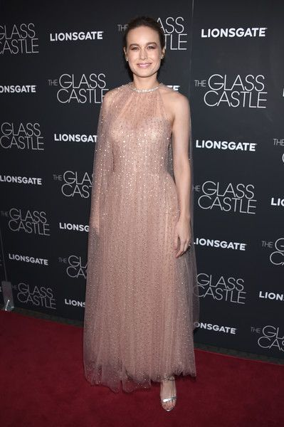Brie Larson attends 'The Glass Castle' screening in NYC.