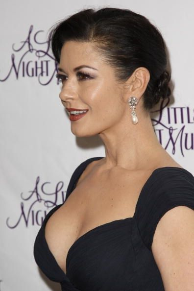 Catherine Zeta-Jones Does Decolletage Tastefully (And Here's How You Can, Too) Some women just know how to age gracefully. Still top of the list!