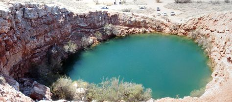 Devil's Inkwell, Bottomless Lakes State Park, Roswell, New Mexico