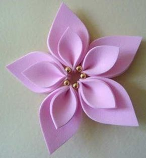 Como Fazer Flores Em Eva Passo A Passo Fotos E Tutorial Flores