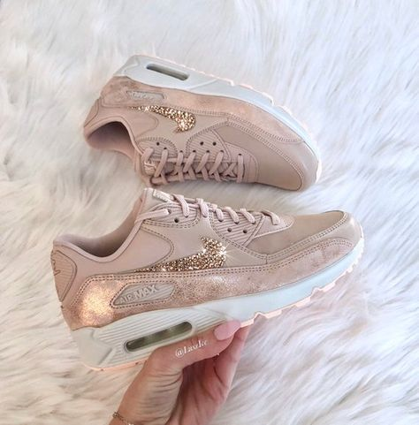 Nike Air Max Thea shoes w Swarovski from Luxe Ice