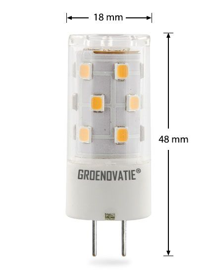 Gy6 35 Led Lamp 5w Warm Wit Dimbaar Halogeenlamp Led Lamp Led