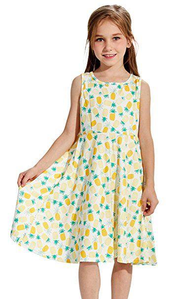 Mädchen Sommer Kleid