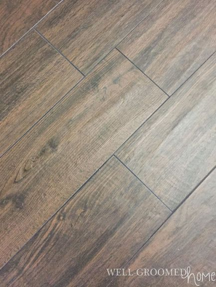 Installing Wood Look Tile With Images Wood Like Tile Flooring
