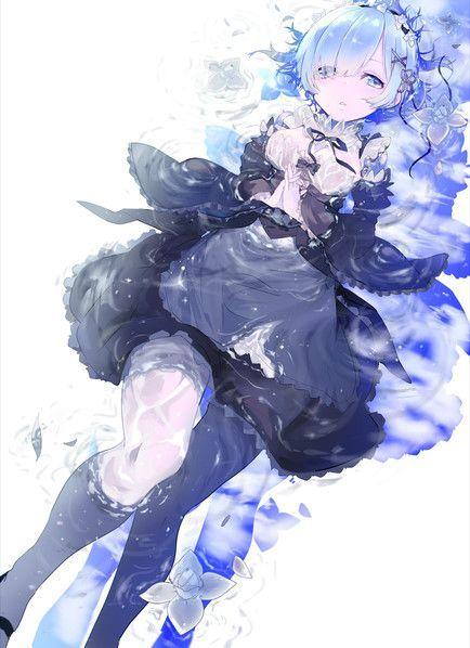 リゼロ レム ラムのかわいいイラスト 画像まとめ 75枚 Pixiv レム イラスト 芸術的アニメ少女