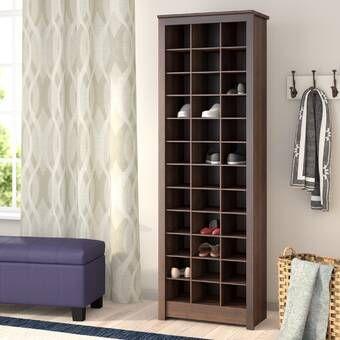 Manzanola Shoe Storage Bench With Images Shoe Storage Cabinet