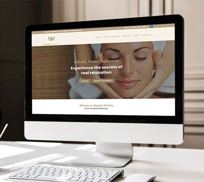 Angelee Holistics With Images Affordable Websites Web Design Small Business Website