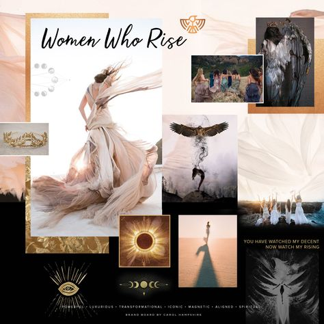 Women Who Rise Brand Vision Board
