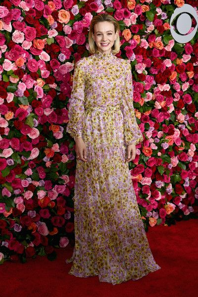 Carey Mulligan attends the 72nd Annual Tony Awards at Radio City Music Hall.
