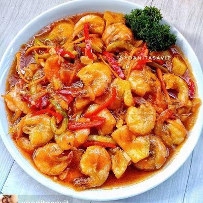 Udang Tahu Asam Manis Resep Masakan Masakan Simpel Resep Ikan