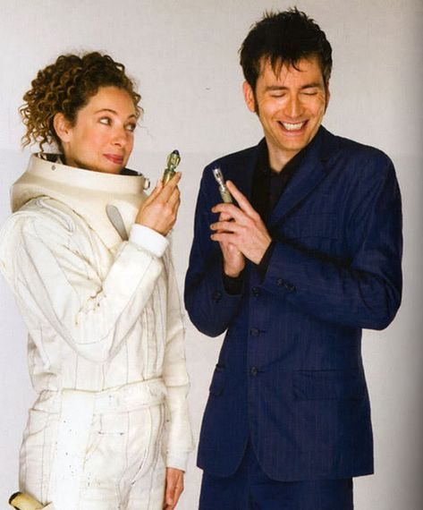 river and the doctor <3