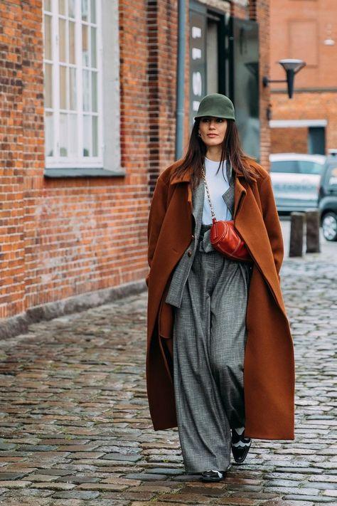 In Copenhagen, Street Style Stars Make Wearing Blazers Under Outerwear Look Easy
