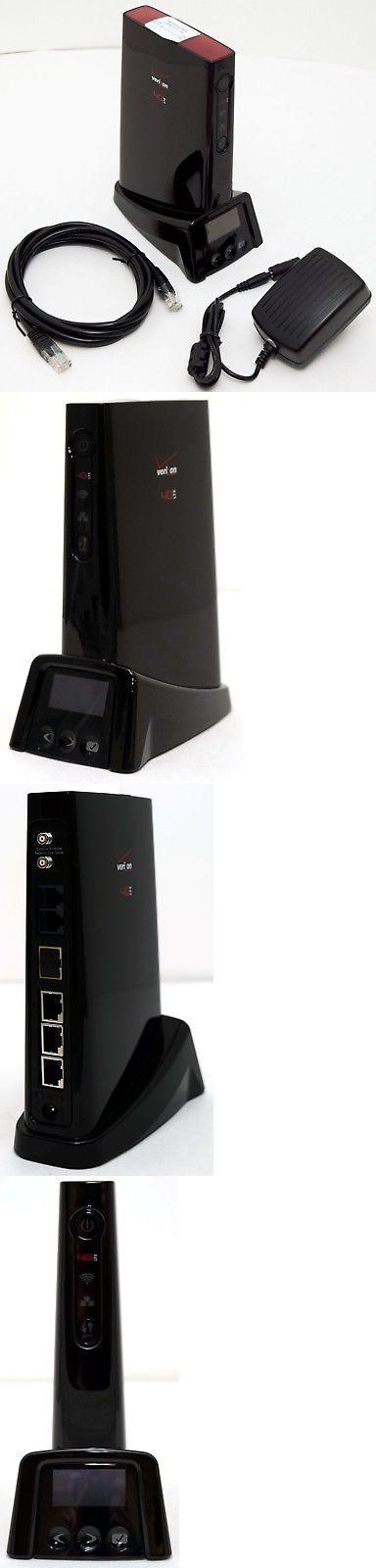 Novatel T1114 Tasman VERIZON 4G LTE Broadband Router Voice internet data