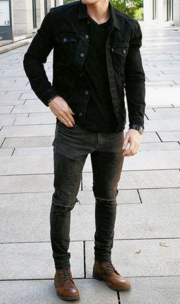 Winter Outfit Street Style For Men Trend 2019 38 | Mens