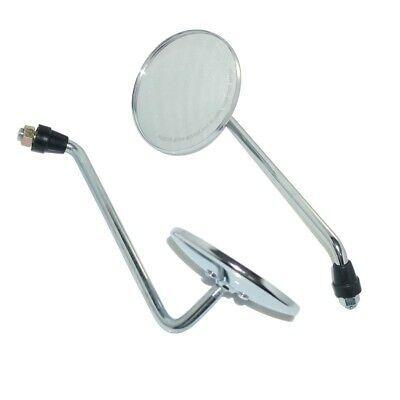 Black E-mark Rear View Side Mirrors Pair For Kawasaki NINJA 650R 09 10 11