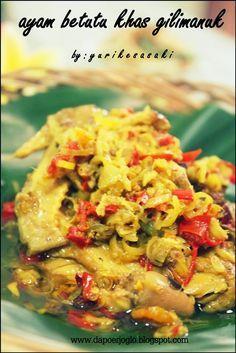 Pasti Yang Sering Ke Bali Tau Banget Dong Sama Ayam Betutu Khas Gilimanuk Ini Menu Favorit Saya Dan Keluarga Pas K Resep Masakan Asia Resep Ayam Resep Masakan