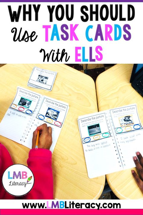 Why You Should Use Task Cards with ELLs