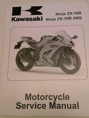 Advertisement Ebay Kawasaki Service Manual 2011 Ninja Zx 10r And 2011 Ninja Zx 10r Abs Kawasaki Kawasaki Motorcycles Ninja Abs