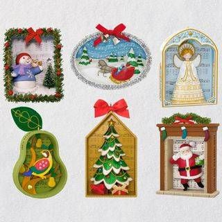 Songs Of The Season Exclusive Ornaments Set Of 6 Hallmark Christmas Ornaments Ornaments Keepsake Ornaments