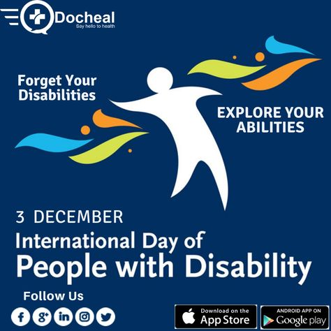 Forget Your Disabilities & Explore Your Abilities !!