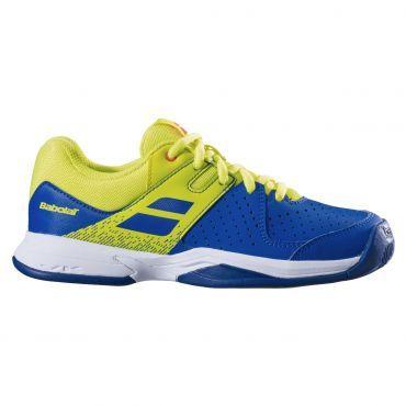 Babolat Pulsion All Court tennisschoenen junior blue fluo