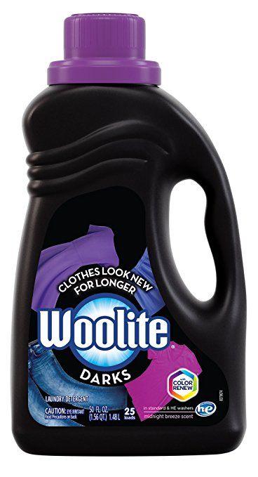 Woolite Darks Liquid Laundry Detergent 50 Fl Oz Bottle With